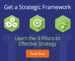 Get a strategic framework