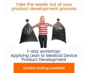 using lean in medical device product development