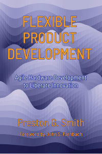 cover of flexible product development book revised 2018